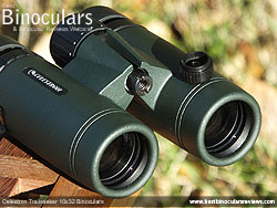 Objective Lenses on the Celestron Trailseeker 10x32 Binoculars