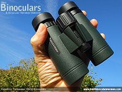 Size of the Celestron Trailseeker 10x32 Binoculars