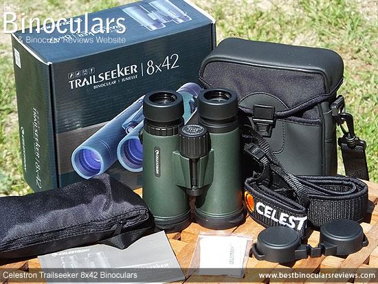 Carry Case for the Celestron Trailseeker 8x42 Binoculars