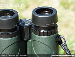 Diopter Adjustment on the Celestron Trailseeker 8x42 Binoculars