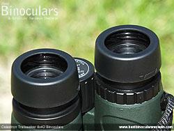 Eyecups on the Celestron Trailseeker 8x42 Binoculars