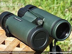 Lens Covers on the Celestron Trailseeker 8x42 Binoculars