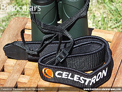 Neck Strap included with the Celestron Trailseeker 8x42 Binoculars