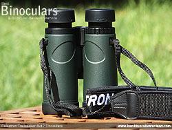 Underside of the Celestron Trailseeker 8x42 Binoculars