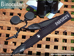 Neck Strap included with the Eagle Optics Denali 8x42 Binoculars
