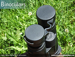 Rain Guard on the Eagle Optics Denali 8x42 Binoculars