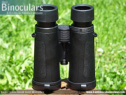 Underside of the Eagle Optics Denali 8x42 Binoculars