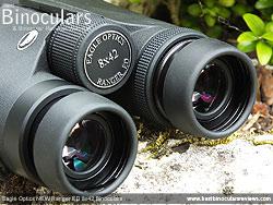 Eyecups on the Eagle Optics NEW Ranger ED 8x42 Binoculars