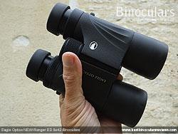Rear of the Eagle Optics NEW Ranger ED 8x42 Binoculars
