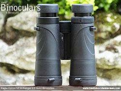 Underside of the Eagle Optics NEW Ranger ED 8x42 Binoculars