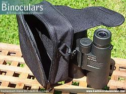 Levenhuk Atom binoculars in their Carry Case