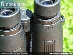 Diopter Adjustment on the Eschenbach Arena D+ 10x50 Binoculars
