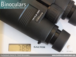Weight of the Eschenbach Arena D+ 10x50 Binoculars