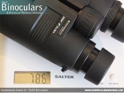 Weight of the Eschenbach Arena D+ 10x50 Binoculars