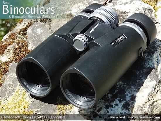 42mm Objective Lenses on the Eschenbach Trophy D 8x42 ED Binoculars