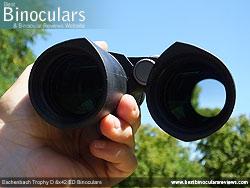 Reverse view through the Eschenbach Trophy D 8x42 ED Binoculars