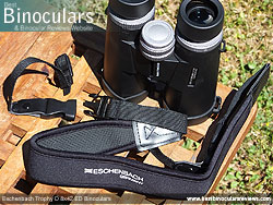 Neck Strap included with the Eschenbach Trophy D 8x42 ED Binoculars