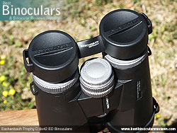 Rain Guard on the Eschenbach Trophy D 8x42 ED Binoculars