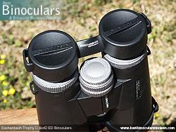 Rain Guard on the Eschenbach Trophy D 8x42 ED Binoculars