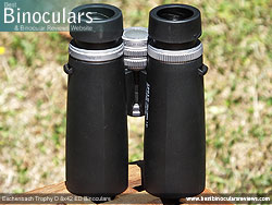 Underside of the Eschenbach Trophy D 8x42 ED Binoculars