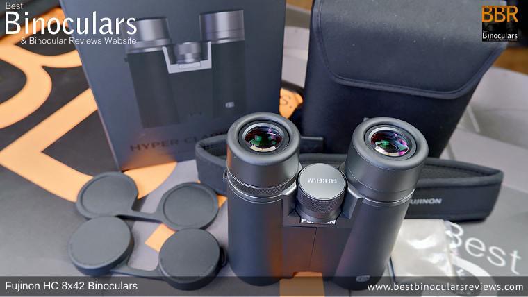 Accessories for the Fujinon HC 8x42 Binoculars