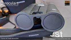 Lens Covers on the Fujinon HC 8x42 Binoculars