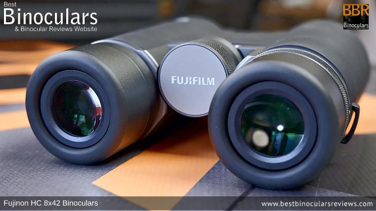 Ocular Lenses on the Fujinon HC 8x42 Binoculars