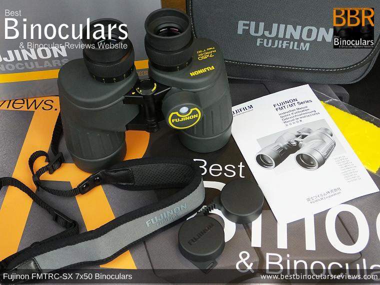 Accessories for the Fujinon Polaris 7x50 FMTRC-SX binoculars