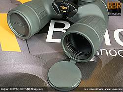 Lens Covers on the Fujinon Polaris 7x50 FMTRC-SX binoculars