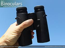Single bridge design on the GPO Passion ED 8x42 Binoculars