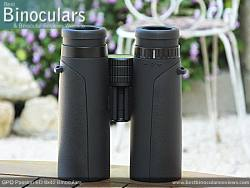Underside of the GPO Passion ED 8x42 Binoculars