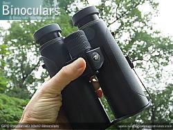 Single bridge design on the GPO Passion HD 10x42 Binoculars