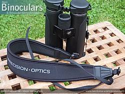 Neck Strap included with the GPO Passion HD 10x42 Binoculars