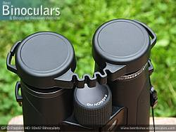 Rain Guard on the GPO Passion HD 10x42 Binoculars