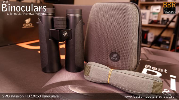 The GPO Passion HD 10x50 Binoculars Carry Case