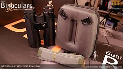 Rear face of the Carry Case for the GPO Passion HD 10x50 Binoculars