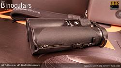 Lens Cover on the GPO Passion HD 10x50 Binoculars