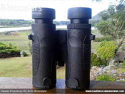 Underside of the Hawke Endurance ED 8x32 Binoculars