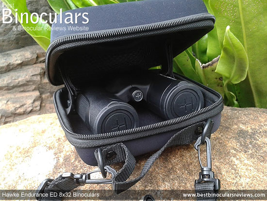 Carry Case for the Hawke Endurance ED 8x32 Binoculars