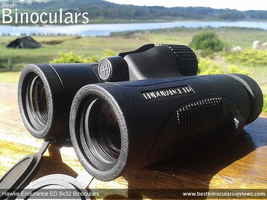 Objective Lenses on the Hawke Endurance ED 8x32 Binoculars