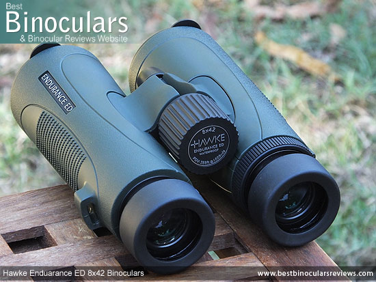 Focus Wheel on the Hawke Endurance ED 8x42 Binoculars