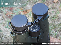 Rain Guard on the Hawke Endurance ED 8x42 Binoculars