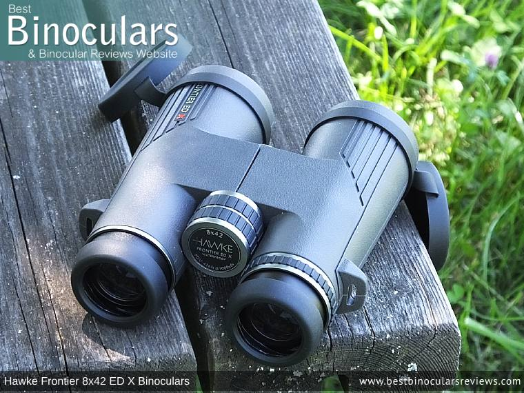 Focus Wheel on the Hawke Frontier 8x42 ED X Binoculars