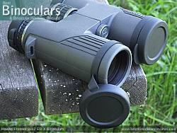 Objective Lens Covers on the Hawke Frontier 8x42 ED X Binoculars