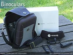 Neck Strap included with the Hawke Frontier 8x42 ED X Binoculars