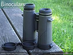 Underside of the Hawke Frontier 8x42 ED X Binoculars