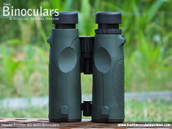 Rear of the Hawke Frontier ED 8x43 Binoculars