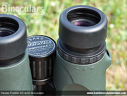 Diopter Adjustment on the Hawke Frontier ED 8x43 Binoculars