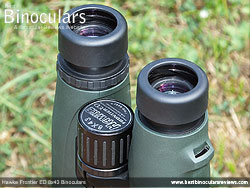 Eyecups on the Hawke Frontier ED 8x43 Binoculars