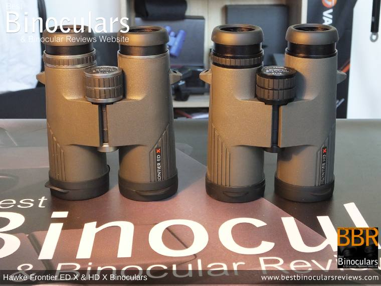 Comparing the Hawke Frontier ED X and HD X Binoculars
